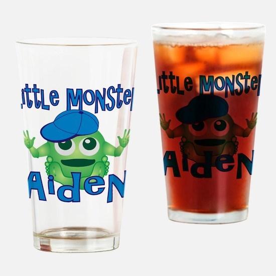 Little Monster Aiden Drinking Glass