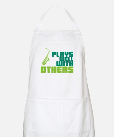 Saxophone (Plays Well With Others) Apron