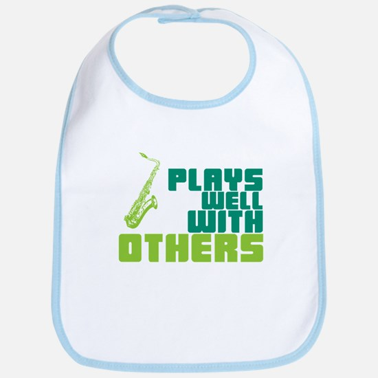 Saxophone (Plays Well With Others) Bib