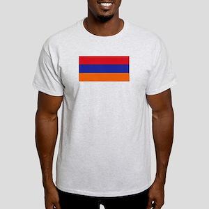Armenian Flag Ash Grey T-Shirt