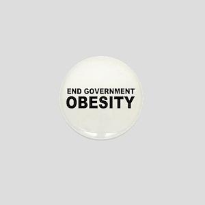 End Government Obesity Mini Button