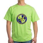 Minuteman Border Patrol tf Green T-Shirt