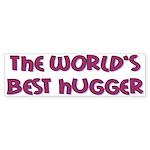 World's Best Hugger Sticker (Bumper 50 pk)