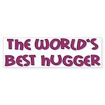 World's Best Hugger Sticker (Bumper 10 pk)
