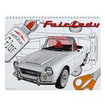 Datsun Roadster SRL311 Wall Calendar
