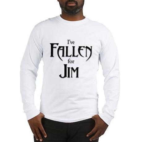I've Fallen for Jim Long Sleeve T-Shirt