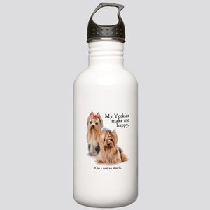 My Yorkies Stainless Water Bottle 1.0L