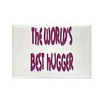World's Best Hugger Rectangle Magnet (100 pack)