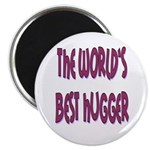 """World's Best Hugger 2.25"""" Magnet (100 pack)"""