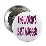 """World's Best Hugger 2.25"""" Button (100 pack)"""