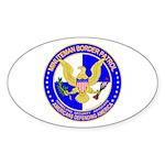 Minuteman Border Patrol ct Oval Sticker