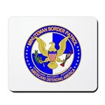Minuteman Border Patrol ct Mousepad