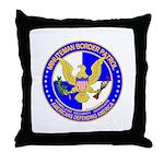 Minuteman Border Patrol ct Throw Pillow