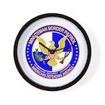 Minuteman Border Patrol ct Wall Clock