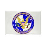 Minuteman Border Patrol ct Rectangle Magnet (100 p