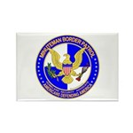 Minuteman Border Patrol ct Rectangle Magnet (10 pa