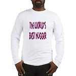 World's Best Hugger Long Sleeve T-Shirt