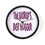 World's Best Hugger Wall Clock