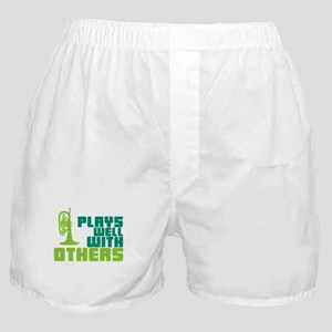Mellophone (Plays Well With Others) Boxer Shorts