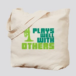 Mellophone (Plays Well With Others) Tote Bag