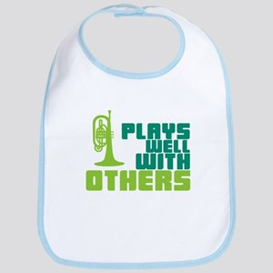 Mellophone (Plays Well With Others) Bib