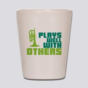 Mellophone (Plays Well With Others) Shot Glass