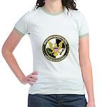 Minuteman Border Patrol tf Jr. Ringer T-Shirt