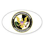 Minuteman Border Patrol tf Oval Sticker