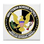 Minuteman Border Patrol tf Tile Coaster