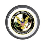 Minuteman Border Patrol tf Wall Clock