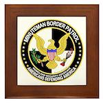 Minuteman Border Patrol tf Framed Tile