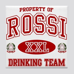 Rossi Italian Drinking Team Tile Coaster