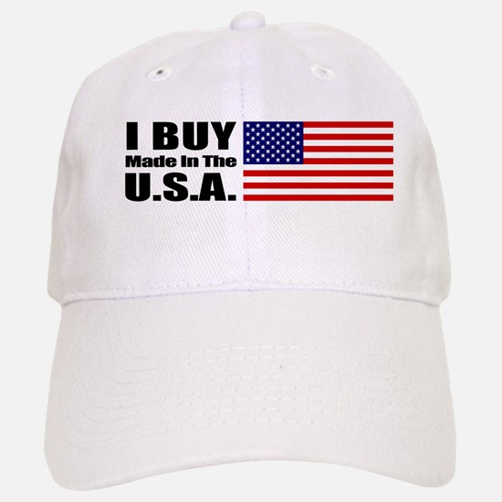 I Buy Made in the USA - Baseball Baseball Cap
