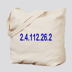 2.4.112.56.2 Blue and Pink Tote Bag