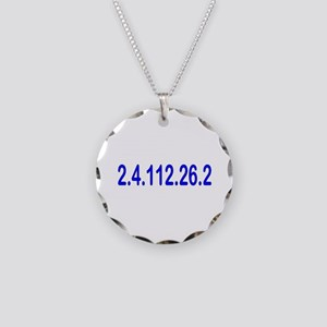 2.4.112.56.2 Blue and Pink Necklace Circle Charm