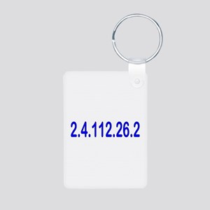 2.4.112.56.2 Blue and Pink Aluminum Photo Keychain