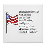 America Tile Coaster
