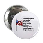 """America 2.25"""" Button (100 pack)"""