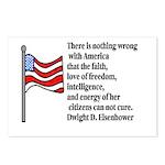 America Postcards (Package of 8)