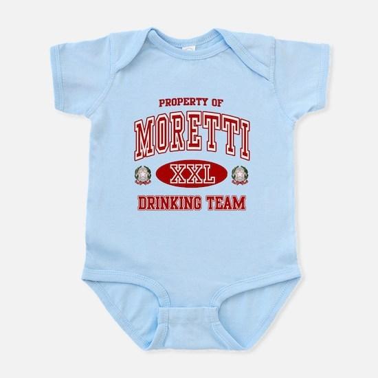 Moretti Italian Drinking Team Infant Bodysuit