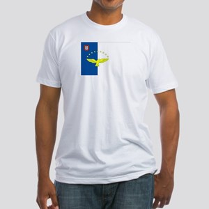 Azores Flag Fitted T-Shirt