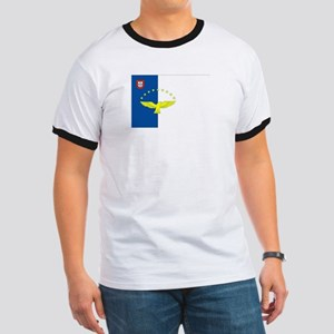 Azores Flag Ringer T