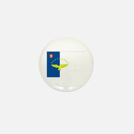 Azores Flag Mini Button