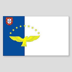 Azores Flag Rectangle Sticker