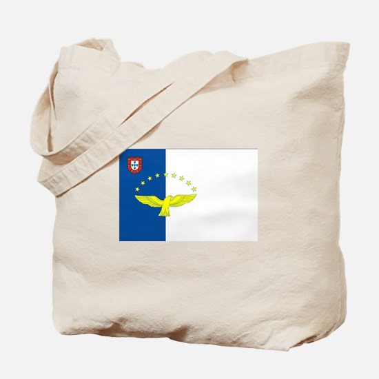 Azores Flag Tote Bag