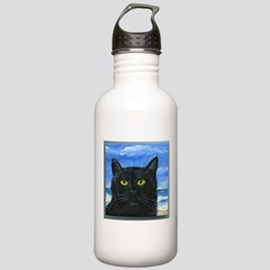 Black Cat at Capitola Stainless Water Bottle 1.0L