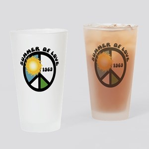 Summer of Love 69 Drinking Glass