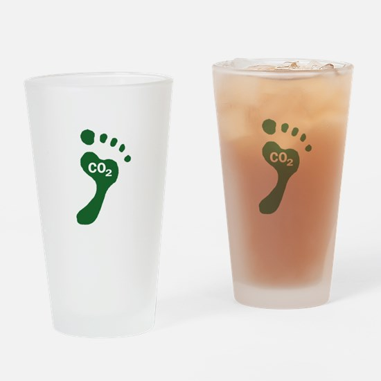 Carbon Footprint Foot Drinking Glass