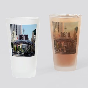 Reno Biggest Little City Drinking Glass