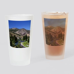Truckee River Drinking Glass